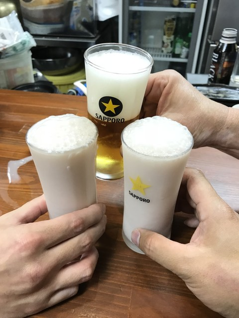 耽羅 - マッコリで乾杯!!