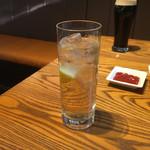 カフェスタイル ハヅキ - ジンバック