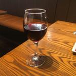 カフェスタイル ハヅキ - 最後の〆は赤ワインです