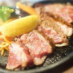 ステーキ・ハンバーグ ひげ - おぐに和牛リブロース