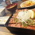 ステーキ・ハンバーグ ひげ - 大トロステーキ重