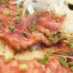 ステーキ・ハンバーグ ひげ - 大トロ