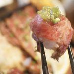 ステーキ・ハンバーグ ひげ - ニクマキ