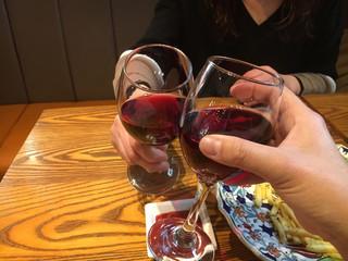 カフェスタイル ハヅキ - ワイン美味しいね