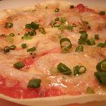 イタリアン酒場 D-track - 香ばしさが◎富山県産白エビのピザ
