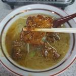 101742726 - 豚肉(軟骨)の味噌煮 とんこつラーメン