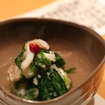 有 - 料理写真:アオリの酢の物