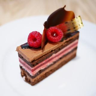 グラン・ヴァニーユ - 料理写真:ショコラ フランボワーズ