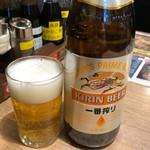 麺屋 ひしお - ビンビール550円