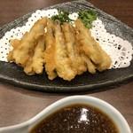 Ginzaraion - 小イワシの天ぷら
