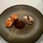 タストゥー - カスタードと金柑のパイ包み