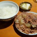 かっぱ - 御飯(小)、にこみ(並)