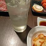 神戸屋 - 生レモンサワー¥450-