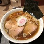 勝本 - 料理写真:中華そば (煮干し醤油スープ)