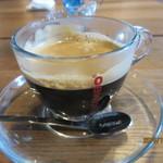 Round Leaf Holly - ホットコーヒー