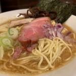 平八 - 煮干味噌らぁ麺(中)