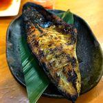 金子屋 - サバ塩焼¥280 2018.12.7