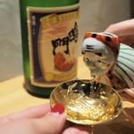 天ぷら串 山本家 - 徳島県 鳴門鯛(お銚子が可愛すぎる)