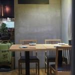 天ぷら串 山本家 - テーブル席