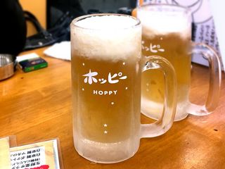 金子屋 - 生ホッピー¥500 2018.12.7