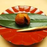 木山 - クワイ饅頭