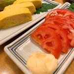 風来坊 - 出汁巻き/トマトスライス