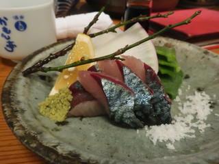 かもん亭 - 清水 サバ刺身