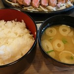 101765369 - 『ブレードミートステーキ定食』(税別1590円)