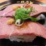スシロー - 料理写真:牛みすじのステーキにぎり