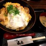 かつ丼 山屋 - 海老とんかつ丼