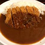 かつ丼 山屋 - 豚カツカレー