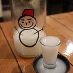 和びすとろ SAKU - 仙禽 雪だるま しぼりたて活性にごり酒