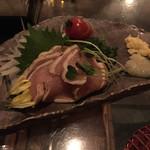 tawarayashoutemmarukome - ムネ肉のたたき