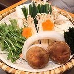 木曽路 - セットの野菜