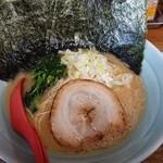 ラーメン 松壱家 - 醤油とんこつ(並) のりまし
