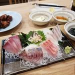 ひなた食堂 - 刺身定食