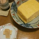 そば切り 萬両 - 豆腐の味噌漬け&だし巻き卵♪