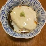 そば切り 萬両 - 湯葉豆腐(๑•᎑•๑)