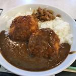 キッチンおはやし - 料理写真:ダブルメンチカレー