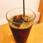 常盤珈琲焙煎所 - サービスのアイスコーヒー
