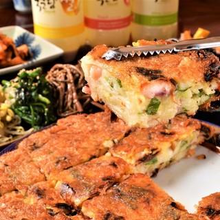 一度食べたらヤミツキに!名物「韓さんの逸品料理」