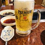 焼肉 白雲台 - ビールと焼肉は最強のアイテム!!お昼ビール最高♡
