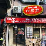 焼肉 白雲台 - いかにも、鶴橋!といったお店構えです(*^◯^*)