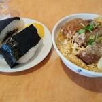 弁天 - かつ丼と比較