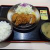 松のや - 料理写真:ヒレカツ定食