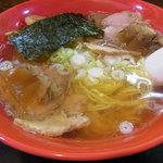 一条流がんこラーメン総本家 - スッポンスープ塩ラーメン