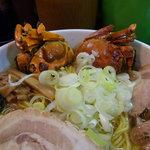 一条流がんこラーメン総本家 - 上海蟹の塩ラーメン