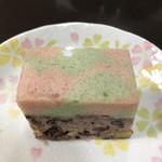 和菓子店 青洋 - 浮島。柔らかな甘さと、優しい甘さ。卵の風味いっぱい。