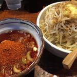 麺処 井の庄 - 辛辛魚つけ麺 ¥1050