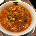 牛角 - ユッケジャンスープ       590円